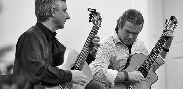 Fr, 2.3.2018 | 19:30Marcus Doneus & Clemens Huber, Gitarrenduo