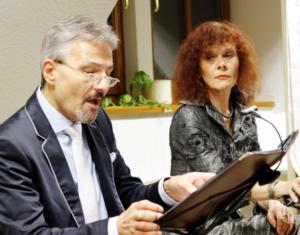 Fr, 28. Sept 2018      Heiterkeit und Fröhlichkeit - Elisabeth Rass und Peter von Fontano