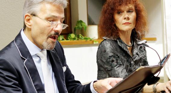 Fr, 28. Sept 2018      Heiterkeit und Fröhlichkeit – Elisabeth Rass und Peter von Fontano