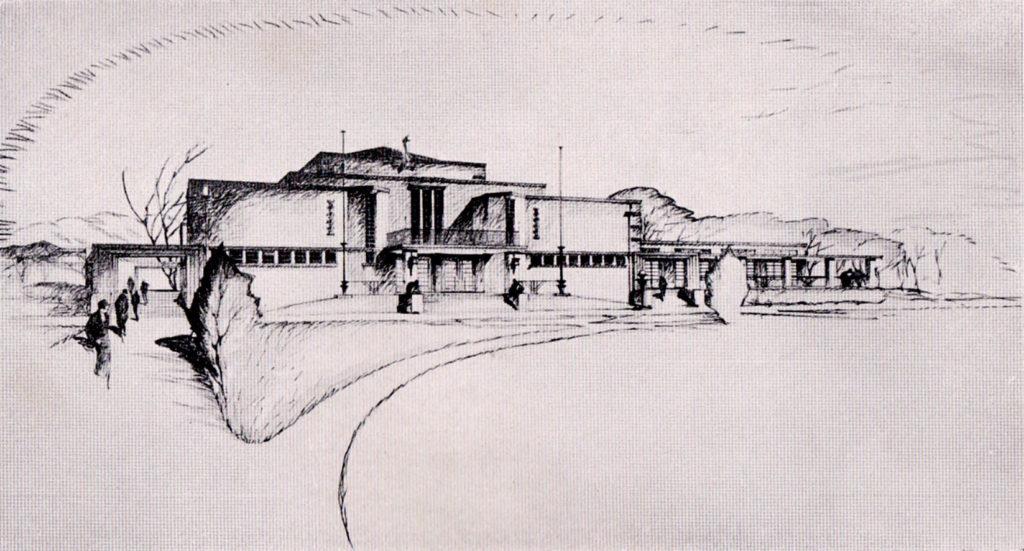 1927 Architektenwettbewerb Kurhaus